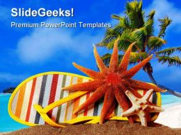 Still Life Beach PowerPoint Templates And PowerPoint Backgrounds 0511