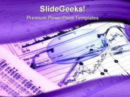 Stock Quotes Finance PowerPoint Templates And PowerPoint Backgrounds 0711