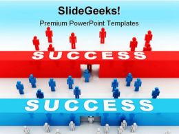 Strategy Concept Success PowerPoint Templates And PowerPoint Backgrounds 0811