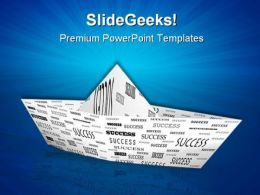 Success Boat Metaphor PowerPoint Templates And PowerPoint Backgrounds 0811
