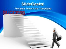 Success Business Leadership PowerPoint Templates And PowerPoint Backgrounds 0811