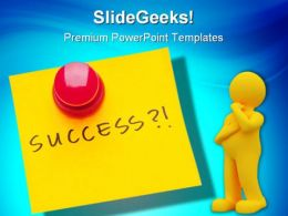 Success Business PowerPoint Templates And PowerPoint Backgrounds 0411