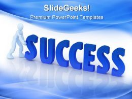 Success Business PowerPoint Templates And PowerPoint Backgrounds 0511