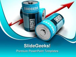 Success Energy Business PowerPoint Templates And PowerPoint Backgrounds 0211