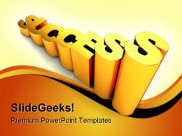 Success Future PowerPoint Background And Template 1210