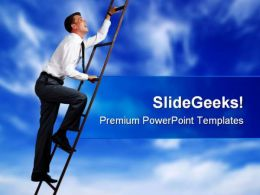 Success In Career Business PowerPoint Templates And PowerPoint Backgrounds 0211