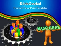Success Industrial PowerPoint Templates And PowerPoint Backgrounds 0511