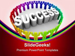 Success People Business PowerPoint Templates And PowerPoint Backgrounds 0811