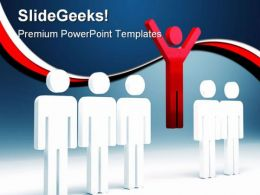Success People Leadership PowerPoint Backgrounds And Templates 0111