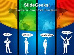 Successful Business PowerPoint Templates And PowerPoint Backgrounds 0411