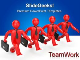 Successful Team Business PowerPoint Templates And PowerPoint Backgrounds 0511