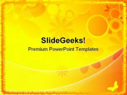 Summer Abstract Background PowerPoint Templates And PowerPoint Backgrounds 0511