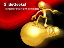 Surfing The Big Idea Business PowerPoint Templates And PowerPoint Backgrounds 0311