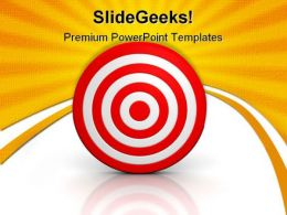 Target01 Business PowerPoint Template 0910
