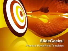 Target Abstract Business PowerPoint Templates And PowerPoint Backgrounds 0411