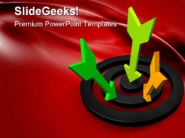 Target Business PowerPoint Templates And PowerPoint Backgrounds 0611