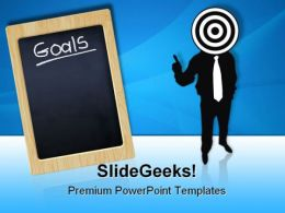Target Goals Business PowerPoint Templates And PowerPoint Backgrounds 0811