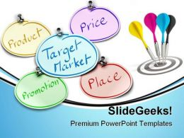 Target Market Business PowerPoint Backgrounds And Templates 1210