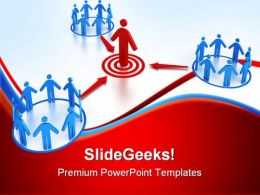 Target Market Business PowerPoint Templates And PowerPoint Backgrounds 0811