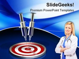 Target Medical PowerPoint Templates And PowerPoint Backgrounds 0411