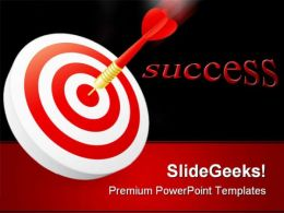 Target Success PowerPoint Templates And PowerPoint Backgrounds 0511