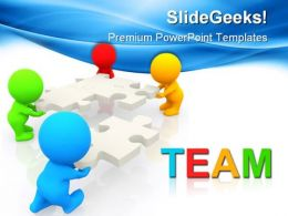 Team Business PowerPoint Templates And PowerPoint Backgrounds 0511