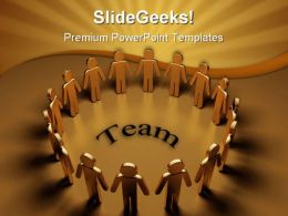Team Business PowerPoint Templates And PowerPoint Backgrounds 0711