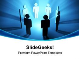 Team People Business PowerPoint Templates And PowerPoint Backgrounds 0511