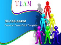 Team People Teamwork PowerPoint Backgrounds And Templates 1210