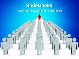 Team Teamwork Leadership PowerPoint Templates And PowerPoint Backgrounds 0611