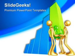 Teamwork01 Business PowerPoint Template 0810