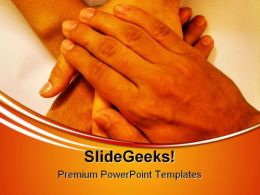Teamwork01 Handshake PowerPoint Templates And PowerPoint Backgrounds 0811