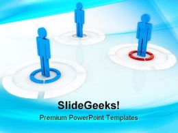 Teamwork01 Leadership PowerPoint Templates And PowerPoint Backgrounds 0311