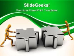 Teamwork02 Business PowerPoint Templates And PowerPoint Backgrounds 0611