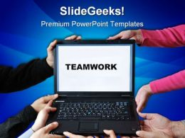 Teamwork03 Business PowerPoint Templates And PowerPoint Backgrounds 0711