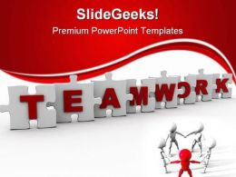 Teamwork04 Business PowerPoint Templates And PowerPoint Backgrounds 0411