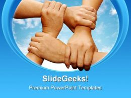 Teamwork04 Business PowerPoint Templates And PowerPoint Backgrounds 0611