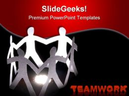 Teamwork And Friendship Communication PowerPoint Templates And PowerPoint Backgrounds 0611