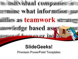 Teamwork Background PowerPoint Templates And PowerPoint Backgrounds 0811