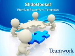 Teamwork Business PowerPoint Templates And PowerPoint Backgrounds 0511