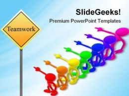 Teamwork Business PowerPoint Templates And PowerPoint Backgrounds 0611