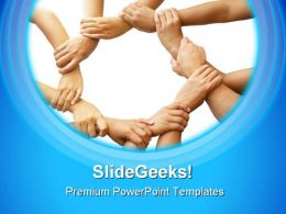 Teamwork Business PowerPoint Templates And PowerPoint Backgrounds 0911