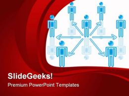 Teamwork Communication PowerPoint Templates And PowerPoint Backgrounds 0611