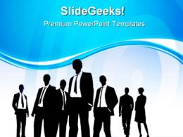 Teamwork Concept01 Business PowerPoint Templates And PowerPoint Backgrounds 0611