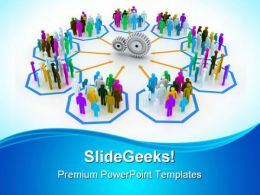 Teamwork Concept01 Business PowerPoint Templates And PowerPoint Backgrounds 0811