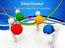 Teamwork Concept01 Leadership PowerPoint Templates And PowerPoint Backgrounds 0711