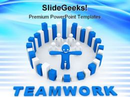 Teamwork Concept01 Success PowerPoint Templates And PowerPoint Backgrounds 0811