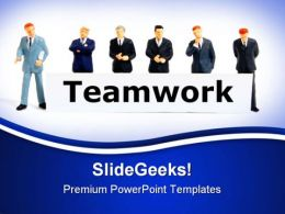 Teamwork People02 PowerPoint Templates And PowerPoint Backgrounds 0811