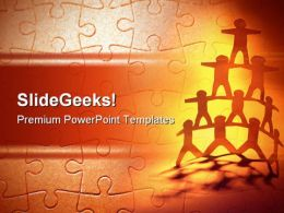 Teamwork People PowerPoint Templates And PowerPoint Backgrounds 0311