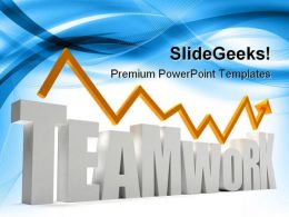 Teamwork Success PowerPoint Templates And PowerPoint Backgrounds 0311